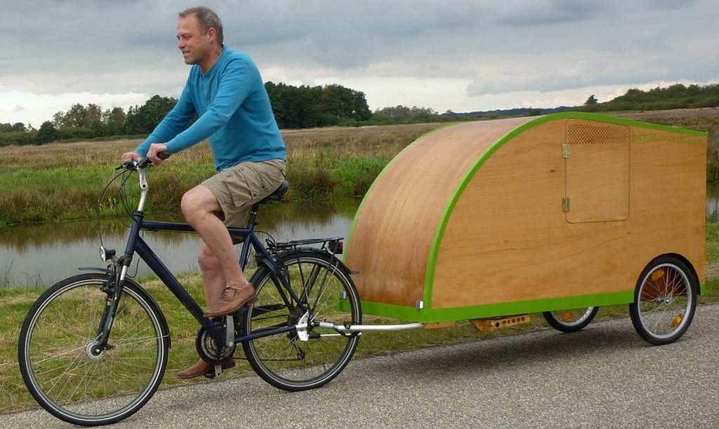 fahrradwohnwagen bicycle caravan. Black Bedroom Furniture Sets. Home Design Ideas