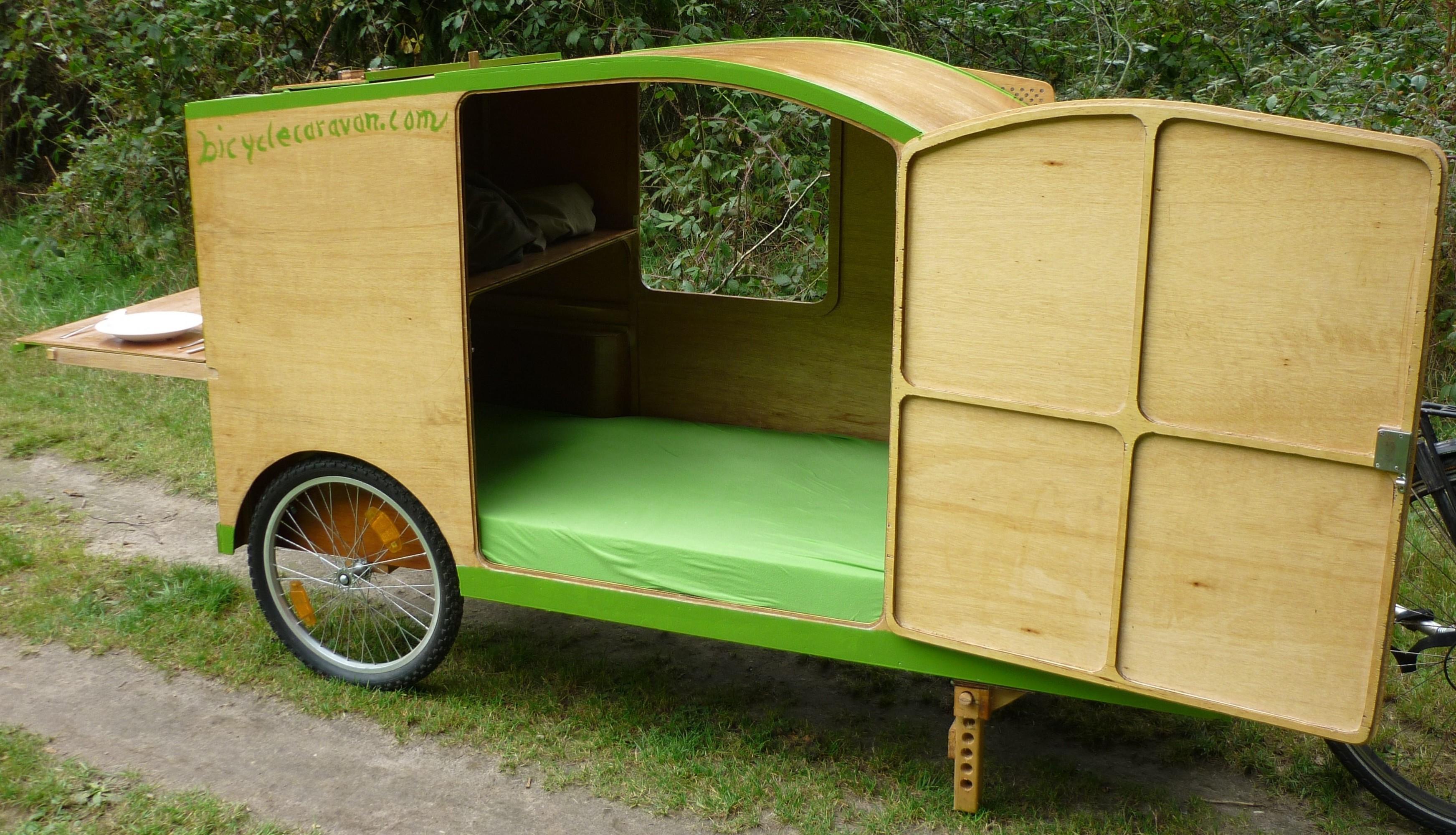 bicycle caravan fietscaravan fahrradwohnwagen bicycle. Black Bedroom Furniture Sets. Home Design Ideas