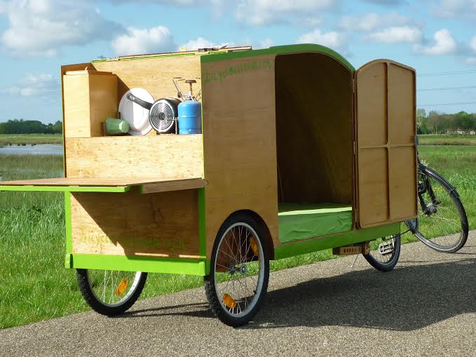 bicycle caravan camper bicycle caravan. Black Bedroom Furniture Sets. Home Design Ideas