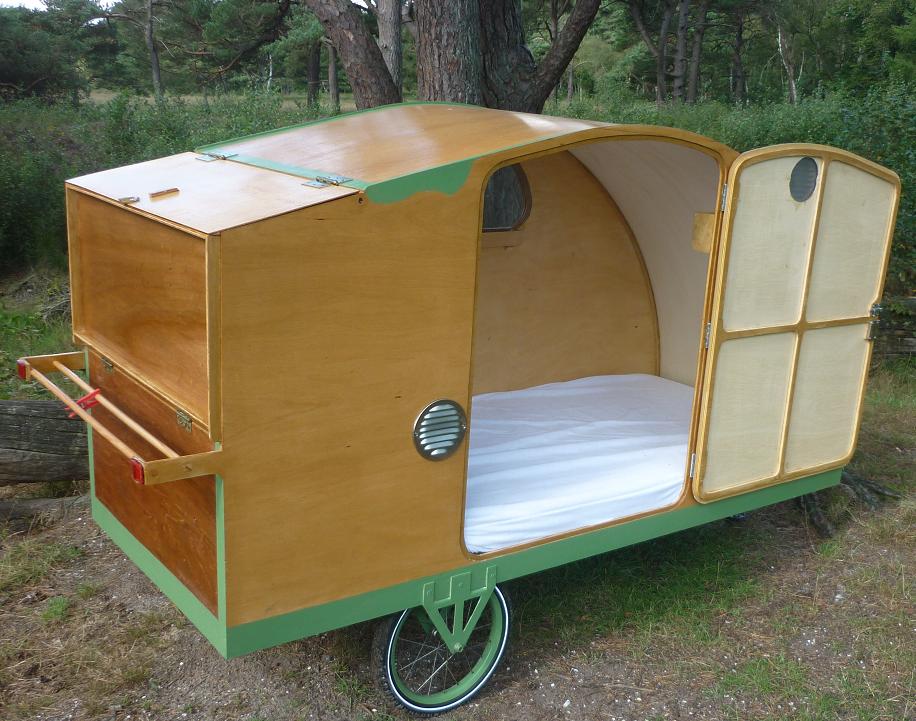 bicycle caravan bicycle camper bicycle caravan. Black Bedroom Furniture Sets. Home Design Ideas